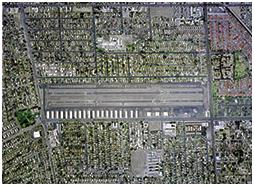 Compton/Woodley Airport (CPM) - Top View